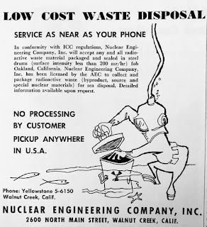 Low Cost Nuclear Waste Disposal