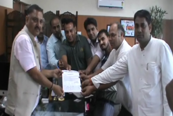 mission-journalist-protection-give-memorandum-deputy-commissioner-faridabad
