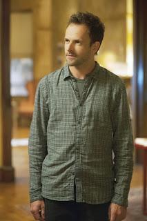 Jonny Lee Miller as Sherlock Holmes in CBS Elementary