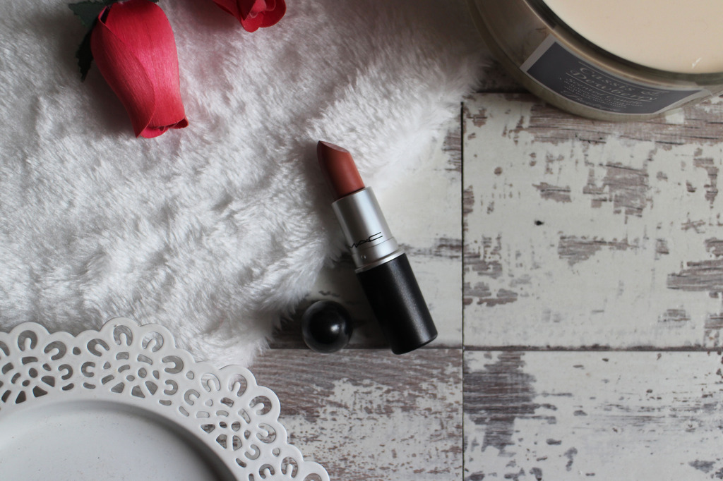 MACxFleurDeForce Cremesheen Mac Lipstick