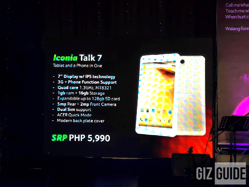 Acer Iconia Talk 7, One 8 And One 10 Now Official Too! Price And Specs Here!