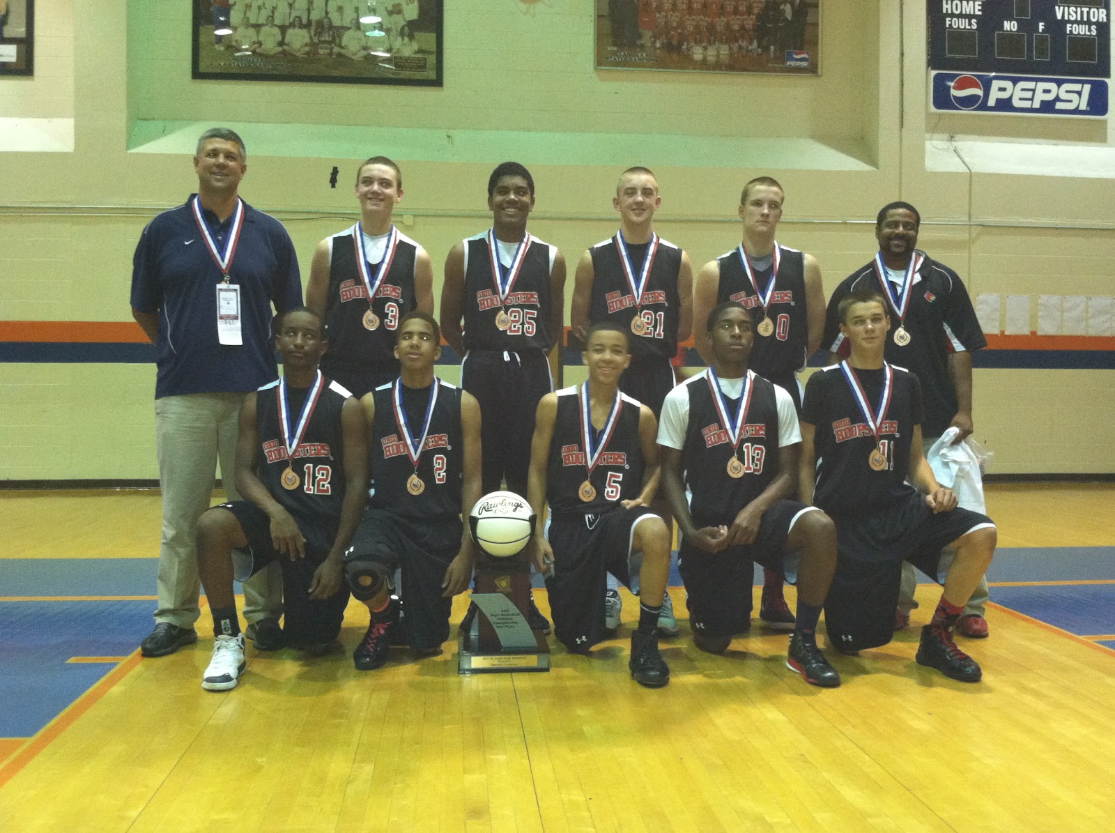 .: Ohio Hoopsters Finish 10th at AAU Nationals
