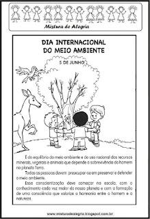 Dia do meio ambiente - texto informativo