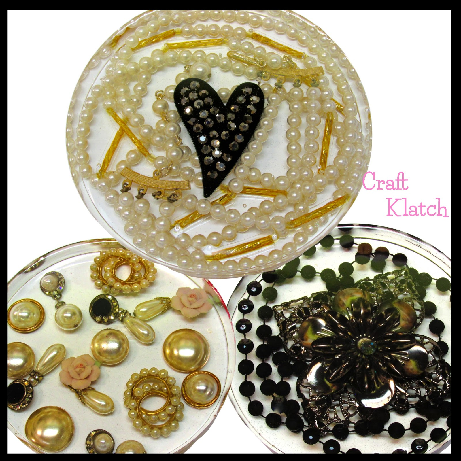 Craft Klatch Resin Jewelry Coasters Diy Project Another