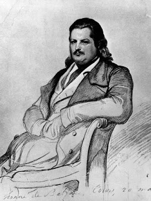 Πορτραίτο του Ονορέ ντε Μπαλζάκ / Honoré de Balzac