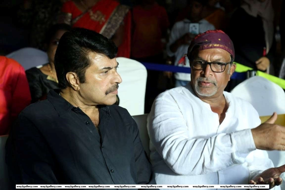 Mammootty in conversation with Nassar