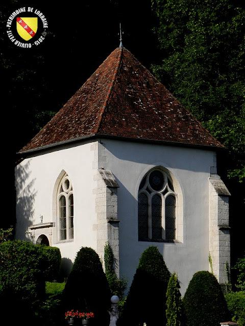 PIERRE-LA-TREICHE (54) - Domaine de la Rochotte : chapelle