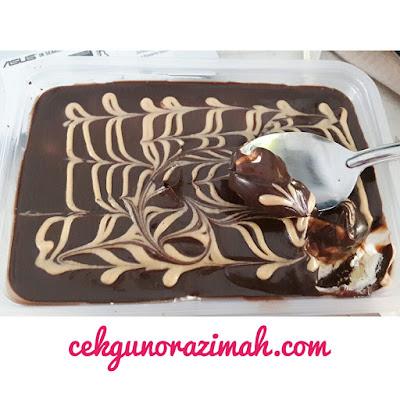 cerita cikgu, kek coklat cheese berhantu, kek coklat sedap, kek coklat cheese telok panglima garang