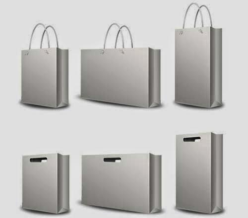 Shopping Bag Set PSD