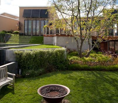Fotos de jardin arboles para jardines de casas modernas - Jardines exteriores de casas modernas ...