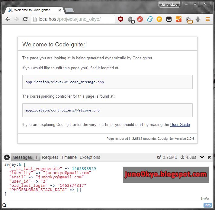 Tích hợp PHP Debugbar trong CodeIgniter