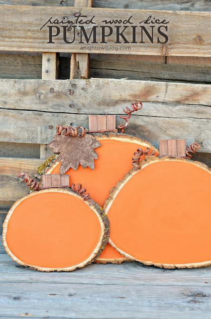 Wooden Pumpkins - Featured