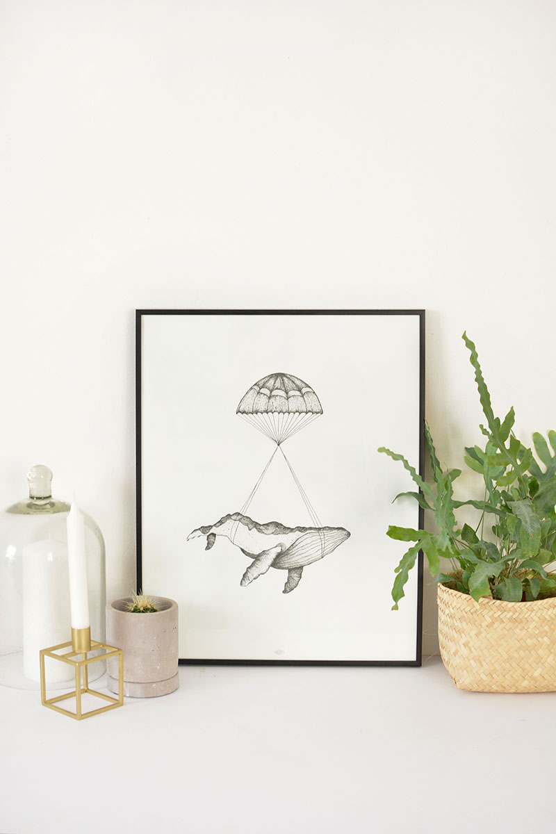 scandi art prints