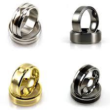 Anium Or Tungsten Wedding Ring