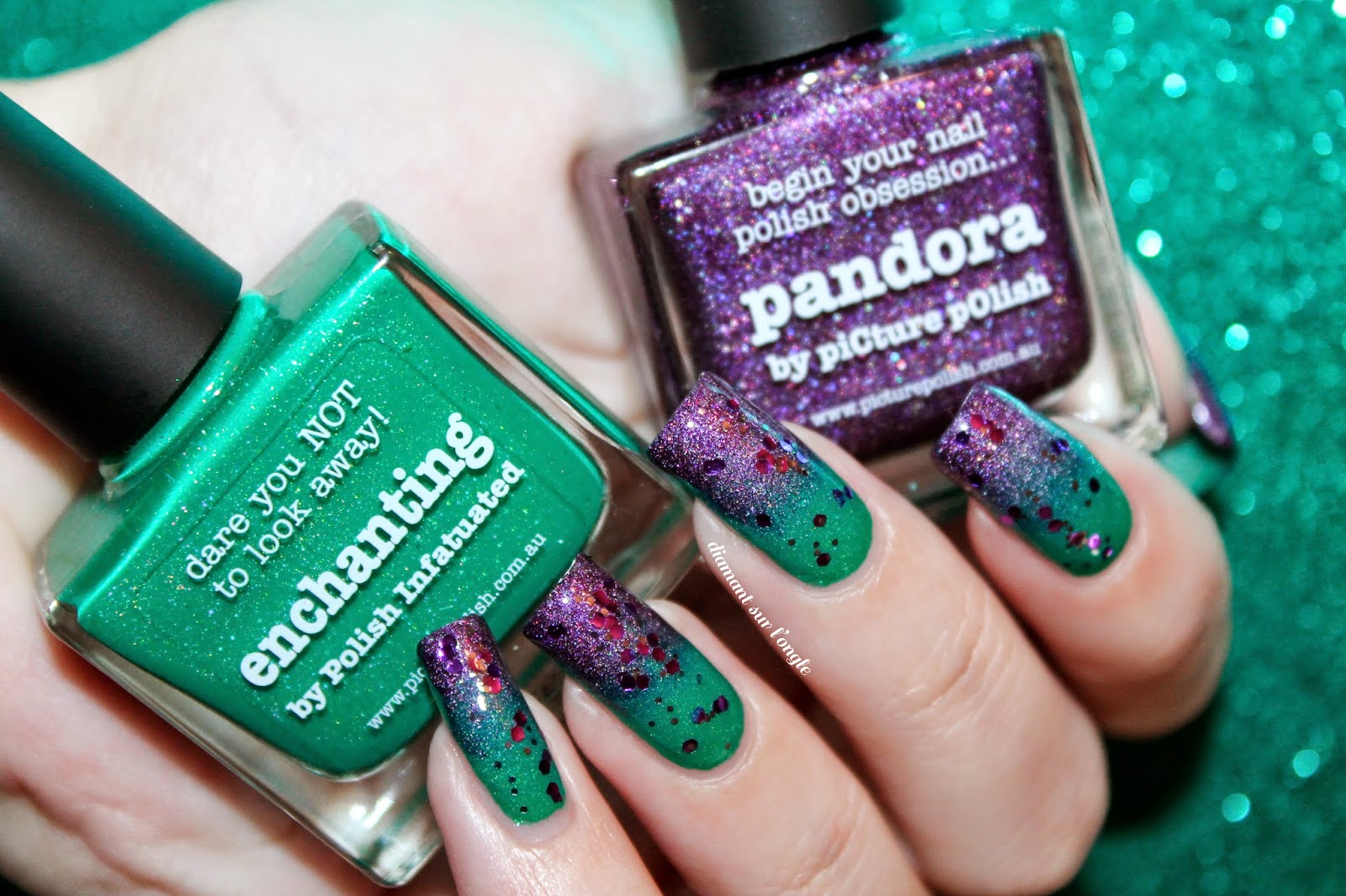 Enchanting and Pandora from Picture Polish