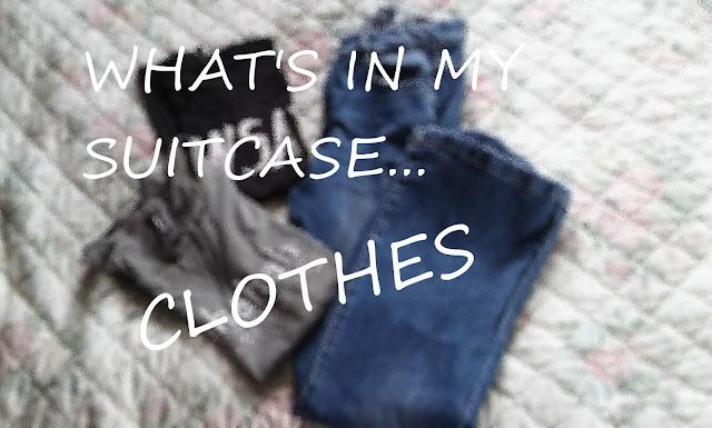 Co jest w mojej walizce... Ciuchy || WHAT'S IN MY SIUTCASE... CLOTHES