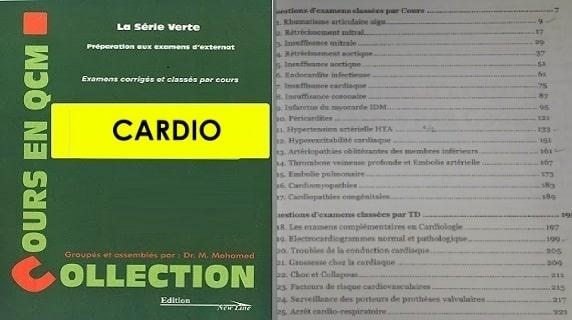 Série Verte de Cardiologie PDF gratuit