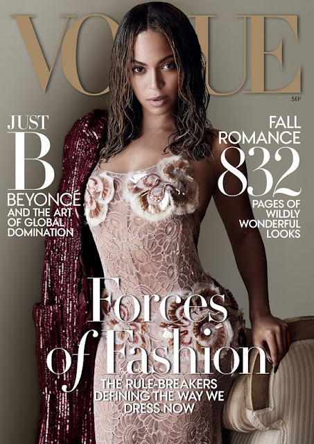 How to: Beyonce's makeup in the September Vogue cover | Beauty and The Boy - Scottish Beauty Blog
