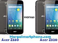Harga dan Perbedaan Acer Liquid Z330 dengan Z320