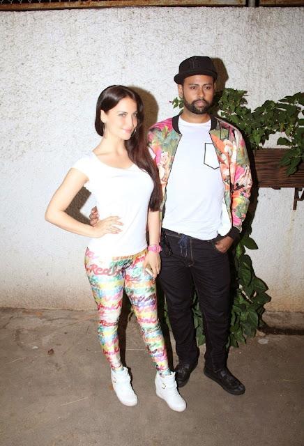 Elli Avram Looks Super Sexy At Film 'Ek Paheli Leela' Special Screening At Sunny Super Sound Cinema