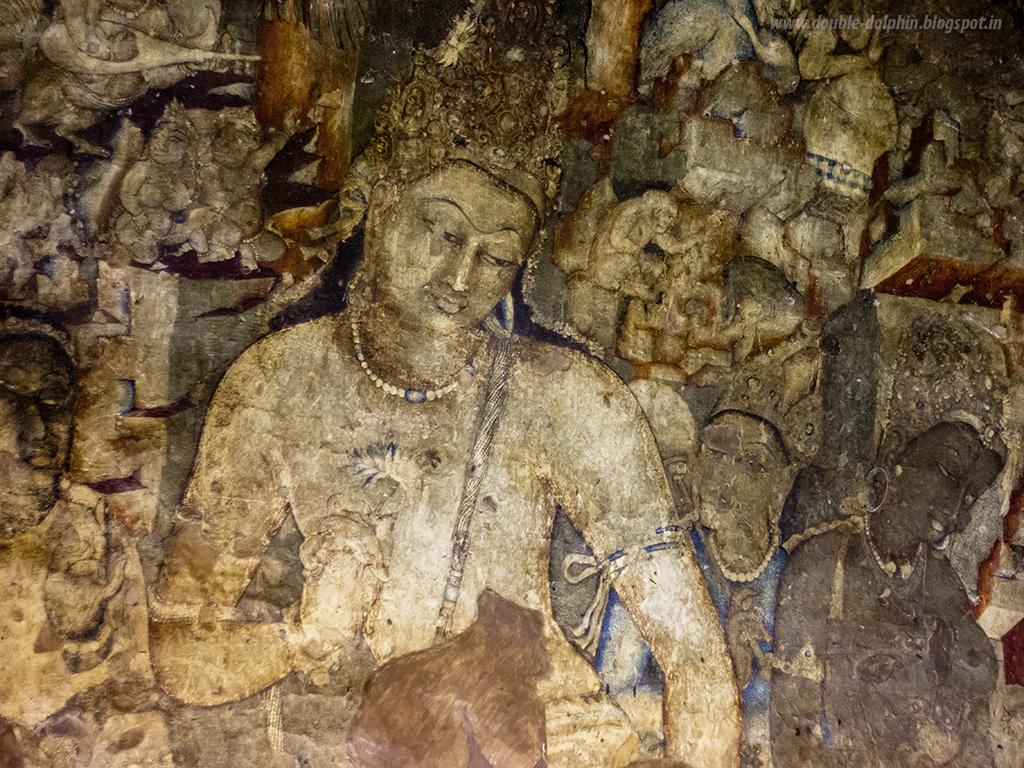 bodhisattva holding a lotus