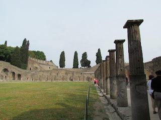 Pompei piazza gladiatori - Itália, melhores momentos 2012