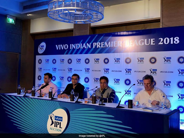 IPL Auction 2018 Day 1: As it happened