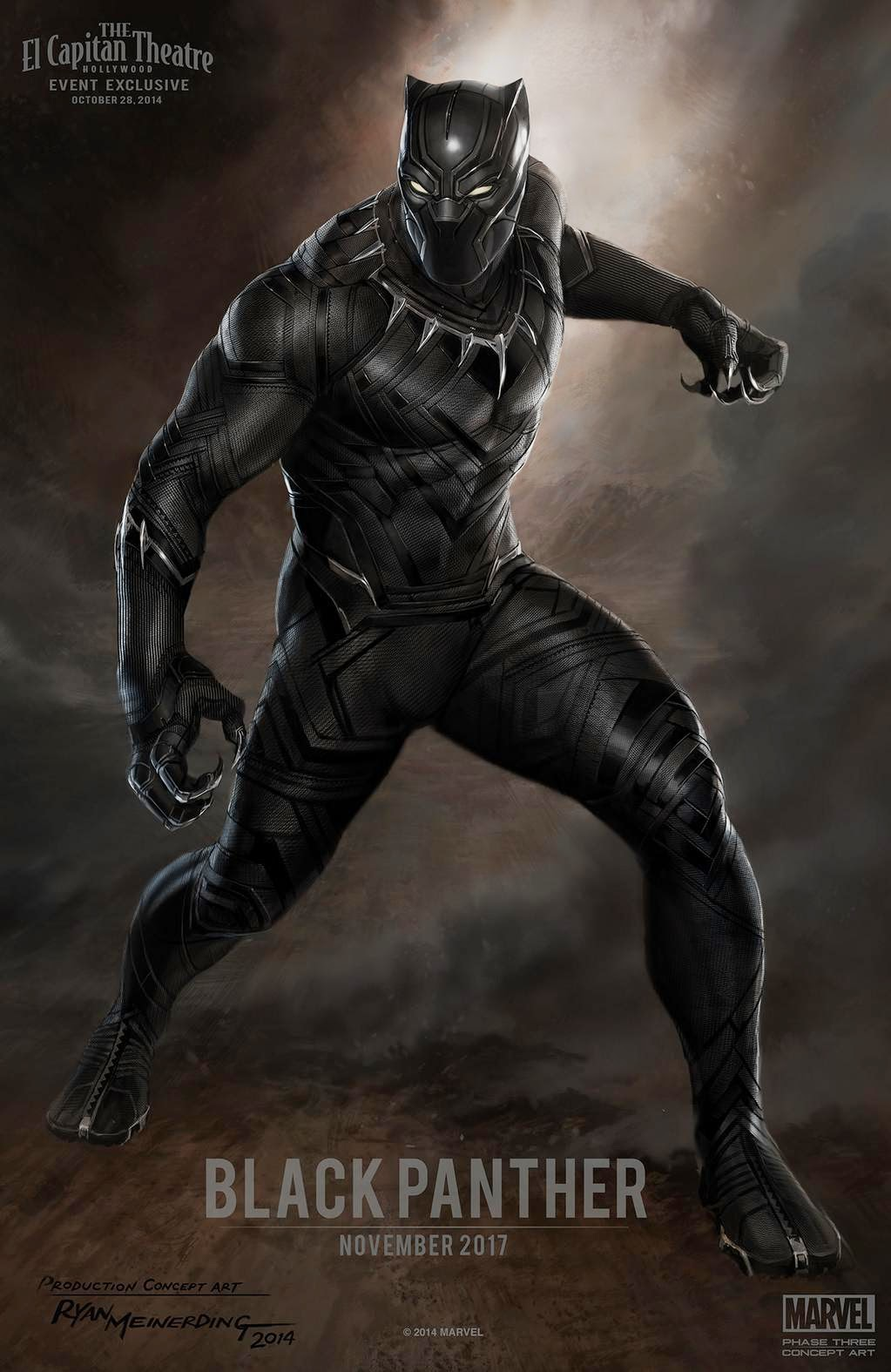 What will Black Panther's suit look like in Marvel's new film?