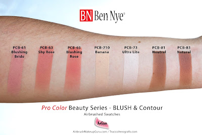 Ben Nye ProColor Airbrush Foundations