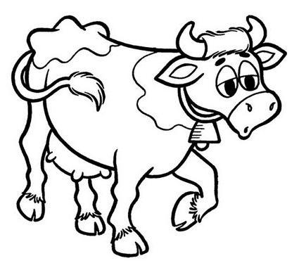 Vaca Desenhos Para Colorir Desenhos Para Colorir