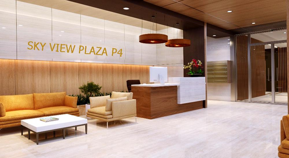 Sảnh đón tiếp của Sky View Plaza