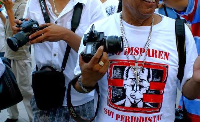 Resultado de imagen para no disparen soy periodista
