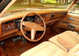 1974 Oldsmobile Toronado Landau Interior Cabin Picture