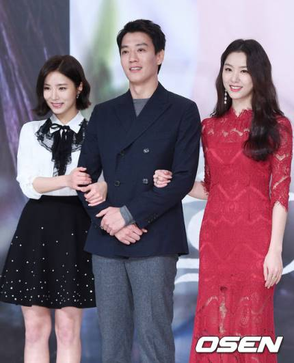 Kim Rae Won  Shin Se Kyung  Seo Ji Hye KBS' Drama Black Knight Press