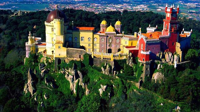 Palacio Da Pena Portogallo