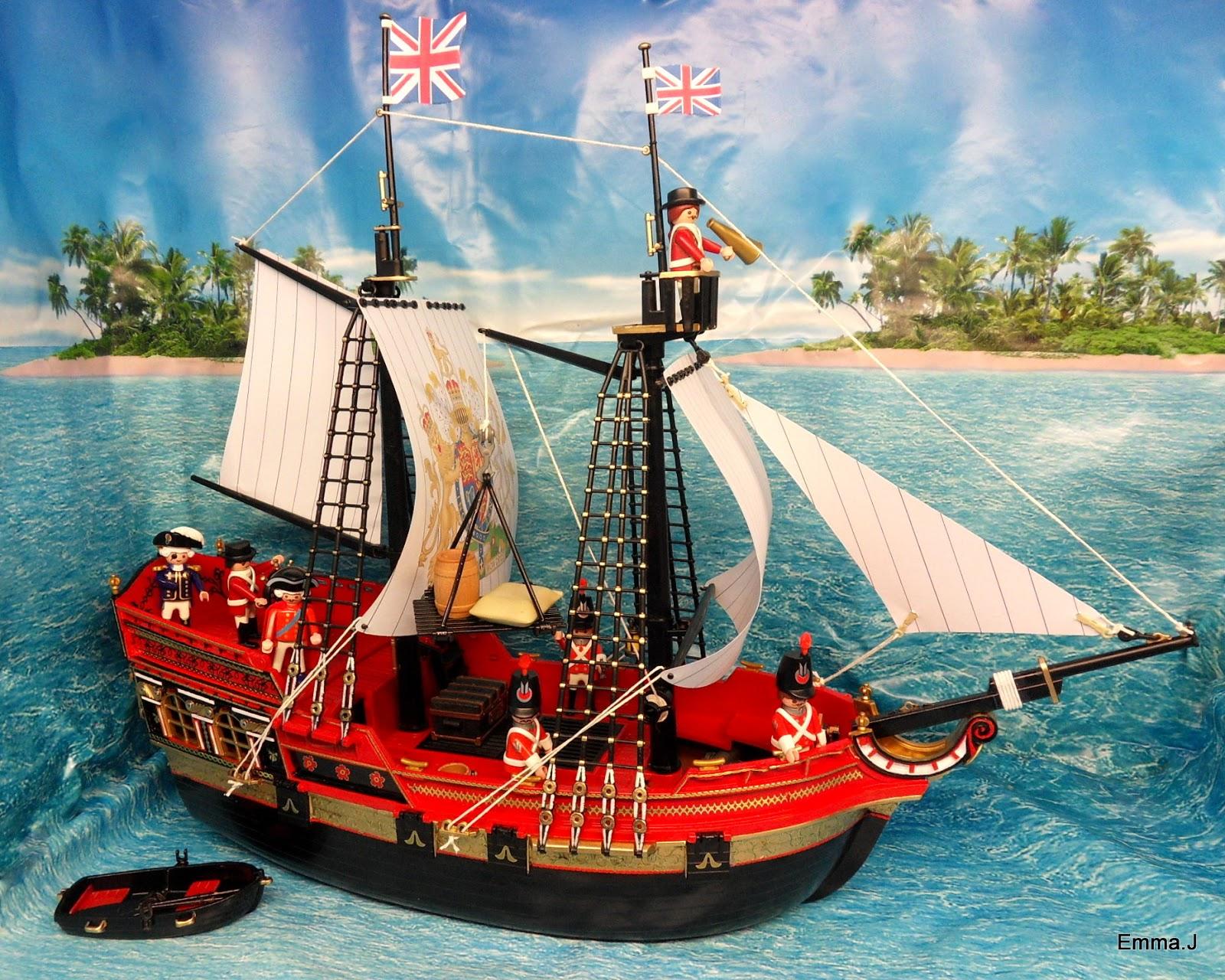 HMS King George | Emma.J's Playmobil