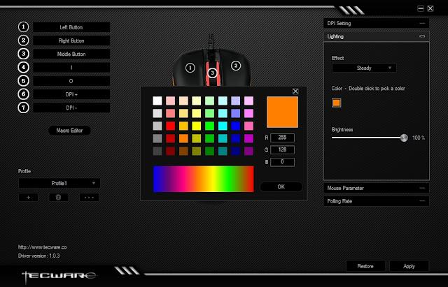 tecware vector new switch