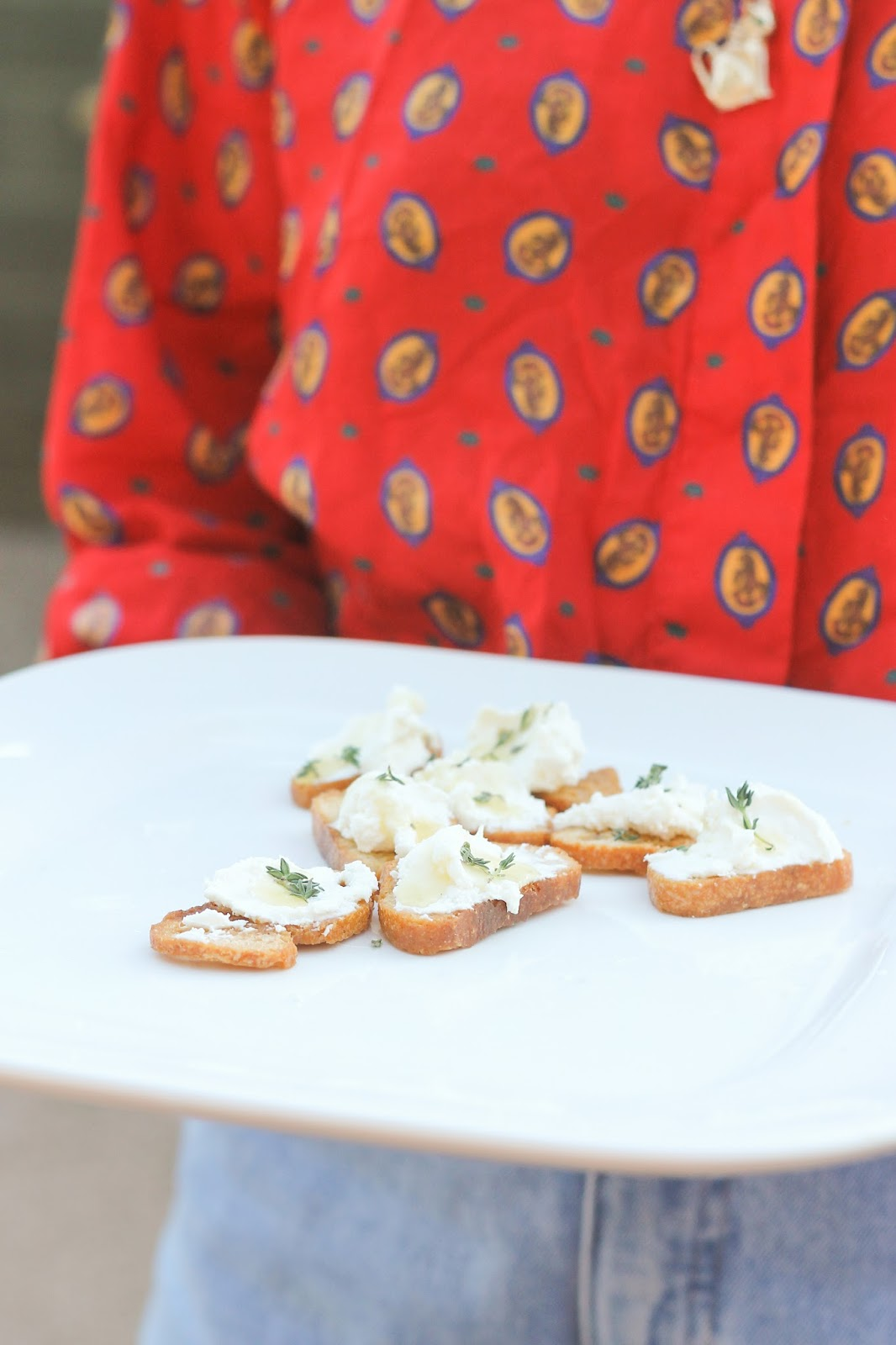 texas french bread fall garden party crostini 2015