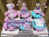 Hello Kitty Cupcake Ulang Tahun