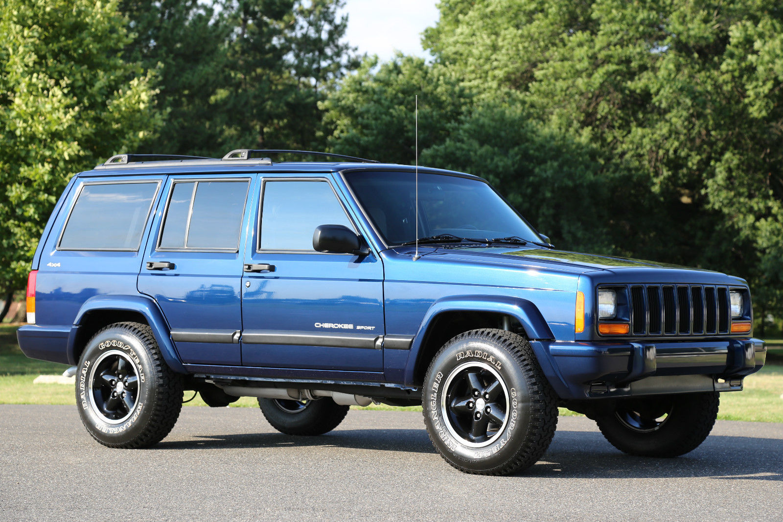 Jeep Renegade Lifted >> Daily Turismo: Blue Thursday: 2000 Jeep Cherokee Sport XJ
