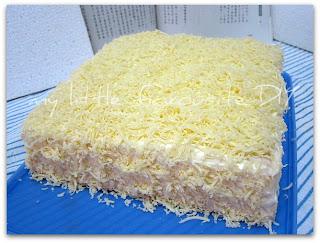 Resep Sponge Cake Keju Vanilla