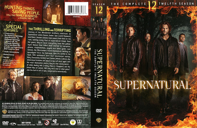 Supernatural Season 12 DVD Cover