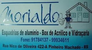 Ofertas de aniversário no Morialdo Esquadrias, Box e Vidraçaria