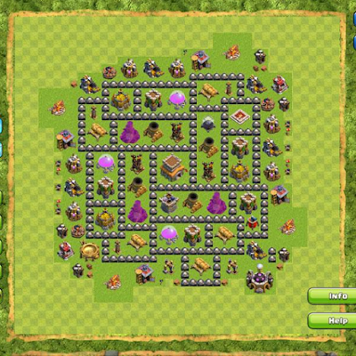 Base TH 8 COC Terbaik