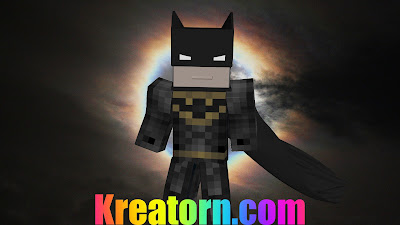 Minecraft Batman Skin