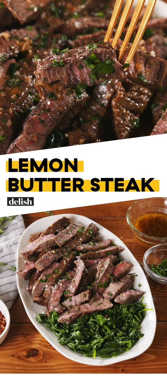 Lemon Butter Steak