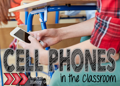 Cell Phones in teh Classroom