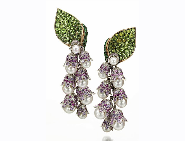Suzanne Syz lily of the valley earrings