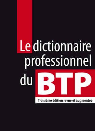 dictionnaire professionnel du btp pdf