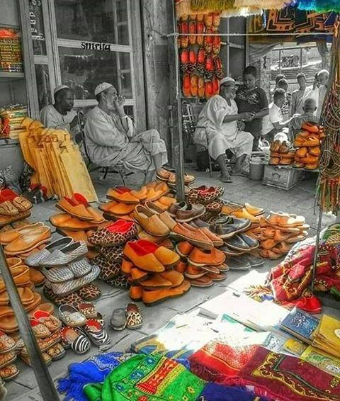 صور من السودان - سوق المراكيب